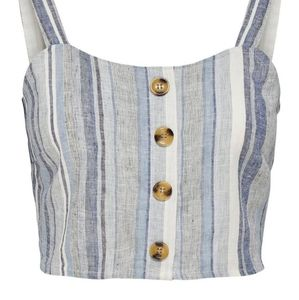 Only Striped Crop Top